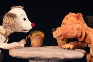 人形劇団京芸 おもしろげきじょう 『いぬうえくんとくまざわくん』