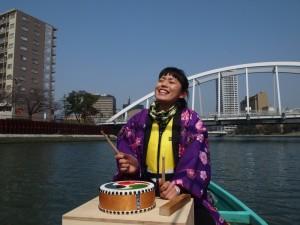 『紫川 語り部屋形舟』の様子