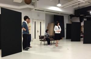 非科学実験劇場 Vol.2『TWO』稽古風景