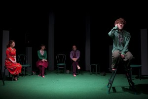 劇団きらら『ぼくの、おばさん』(撮影:藤本彦)