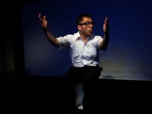 一人芝居フェスティバル「INDEPENDENT:FUK」2014上演作品「トルコライス ラプソディー」出演:村上差斗志(14+)