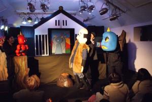 舞台アート工房・劇列車 蛍の夜と人形劇場『でんでら山のふしぎ』