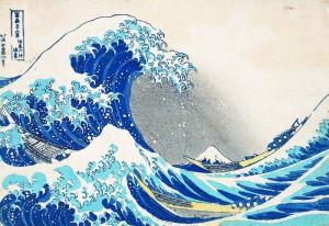 葛飾北斎《冨嶽三十六景 神奈川沖浪裏》1831-34年
