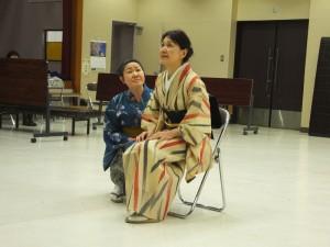 劇団青春座 創立70周年記念224回公演『久女の恋』稽古風景