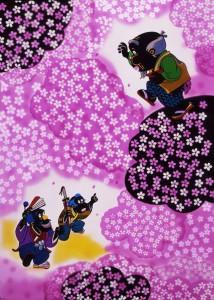平成27年度 第45回 北九州市ファミリー劇場 角笛シルエット劇場『花さかじいさん』