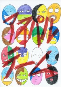 五島真澄×竹内元一(サンピリ)×4-2×音楽ライブ『アスパルテーム』チラシ