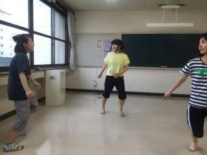 アートユニット豆小僧◎旗揚げ公演『あゆみ』『うわさのタカシ』稽古風景