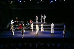 北九州芸術劇場リーディングセッションvol.25 『書く女』舞台写真(撮影:梅本昌裕)