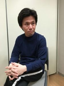 モデルのように座ってと言われた田坂哲郎(非・売れ線系ビーナス)