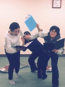 劇団C4『若松☆微少女探偵団~三日月探偵社CASE3.5B面~』稽古風景