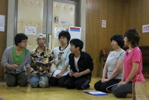 劇団マニアック先生シアター 第13回本公演『十一人の少年』稽古風景