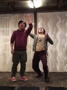 平成28年度『北九州芸術工業地帯』関連企画「ぶらり♪まちなか劇さんぽ」参加作品 ブルーエゴナク『あるはなし』創作風景