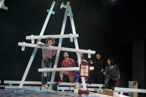 木ノ下歌舞伎『心中天の網島』2015年初演時舞台(写真撮影:東直子)