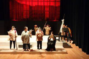 劇団いさ第4期前期発表公演より(2018年6月)